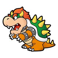 Bowser, or as he is known in Japanese, クッパ/kuppa, uses wagahai.