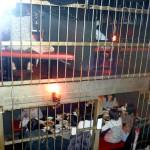 Kangoku izakaya: prison cells