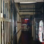 Kangoku izakaya: 2F walkway
