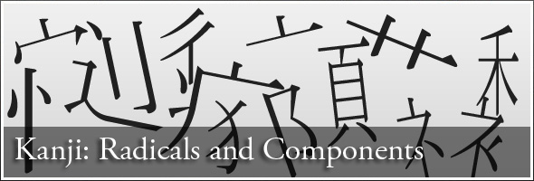 Taking Kanji Apart: Radicals and Components