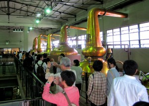 suntory distillery tour